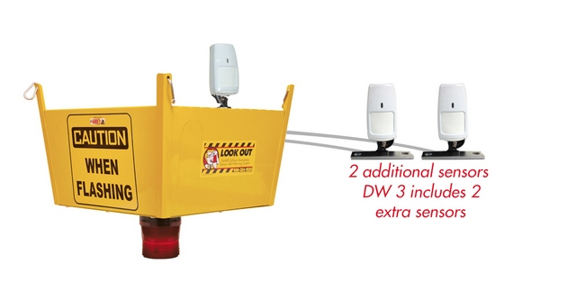 Dock Watcher 3 - Dock Awareness Product Collision Awareness, Collision Safety, Safety Products, Forklift Safety, Warehouse Safety, Collision Awareness, Dock Safety, Dock Awareness