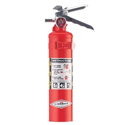 Amerex® 2.5 lb ABC Extinguisher w/ Aluminum Valve & Vehicle Bracket