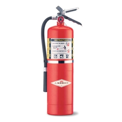 Amerex® 10 lb ABC Extinguisher w/ Aluminum Valve & Wall Hook