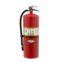 Amerex® 30 lb ABC Compliance Flow Extinguisher w/ Brass Valve & Wall Hook