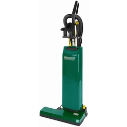 "Bissell® BigGreen Commercial® Dual Motor Upright Vacuum w/ On-Board Tools, 14"" Cleaning Path"