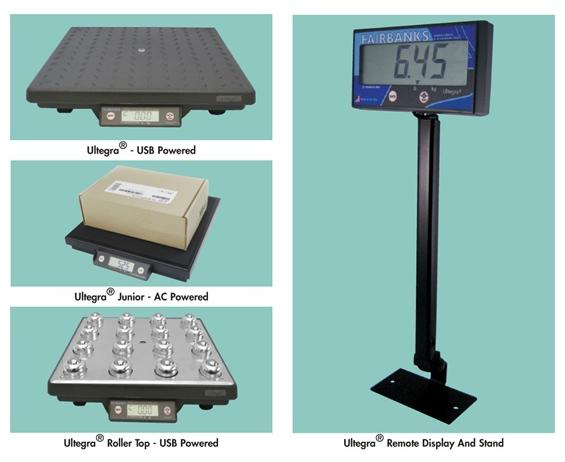 "ULTEGRA® BENCH SCALE LINE- Ultegra Junior, 11 x 11"" Platform Size, 70 Cap. (lbs), USB Output, 120 VAC Power Req."