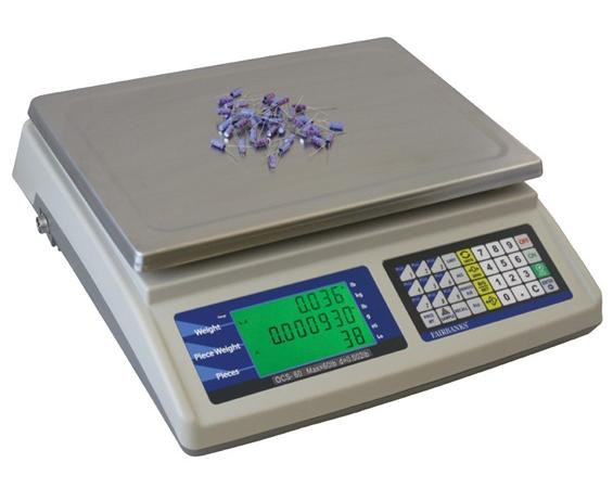 OMEGA COUNTING SCALES- Counting Scale, 6 lb., 0.0002 lb. division size Cap. (lbs)/Division Size