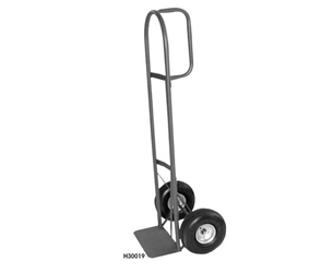 "HEAVY-DUTY D-HANDLE TRUCK- 10"" Pneumatic Wheels, 800 Load Cap. (lbs)"