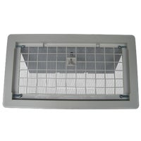 500WH Witten Manual Foundation Vent with Damper foundation vent