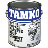 30001229 Tamko Wet Surface Roof Cement 30001229, Tamko Wet Surface Roof Cement - 1 Gallon