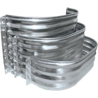 SS3712-12 SPC Square Galvanized Window Wells and Area Walls well window