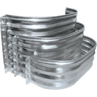 SS3712-18 SPC Square Galvanized Window Wells and Area Walls well window