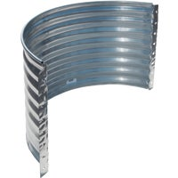 RR3716-24 SPC Round Galvanized Window Well and Area Wall well window