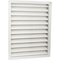 81237 Air Vent Aluminum Wall End Louver 81237, Air Vent Aluminum Wall End Louver