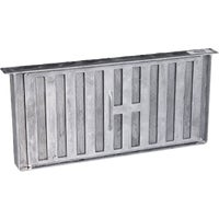 86159 Air Vent Aluminum Manual Foundation Vent with Sliding Damper foundation vent