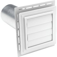 EXVENT PW Ply Gem Louvered Exhaust Vent utility vents