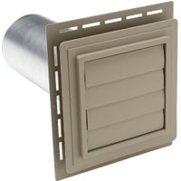 EXVENT PC Ply Gem Louvered Exhaust Vent utility vents