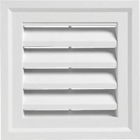 "SQGV1414 PW 14"" x 14"" Square Gable Vent 14"" x"