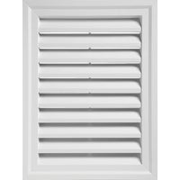 "RECTGV1824 PW 18"" x 24"" Rectangular Gable Vent 18"" x"