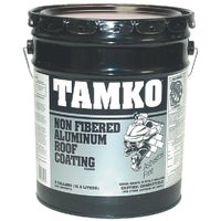 30001298 TAMKO Non-Fibered Aluminum Roof Coating 30001298, Nonfibered Aluminum Roof Coating