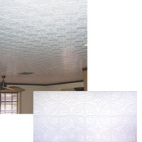 309 Dimensions Tin Look Nonsuspended Ceiling Tile & Backsplash