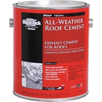 6230-9-34 Black Jack All-Weather Roof Cement 6230-9-34, Black Jack All-Weather Roof Cement and Patching Sealant - 1 Gallon