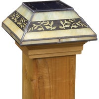 158414 Deckorators Filigreed Solar Post Cap cap post