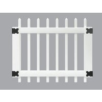 181980 Outdoor Essentials Picket Vinyl Gate gate picket