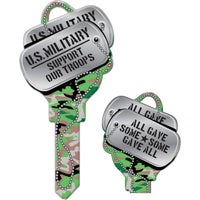 B141K Lucky Line Key Shapes Decorative House Key