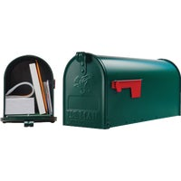 E1100G00 Gibraltar Elite Series Post Mount Mailbox E11G#T1, Elite Series Rural Mailbox
