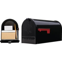 E1600B00 Gibraltar Elite Large Series Post Mount Mailbox E16B#T2, Elite Series Rural Mailbox