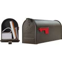 E1100BZ0 Gibraltar Elite Series Post Mount Mailbox E11BZ#T1, Elite Series Rural Mailbox