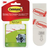 17024-48ES 3M Command Assorted Poster Hanging Strips hanger poster