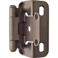 BPR7550ORB Amerock Self-Closing Partial Wrap Overlay Hinge