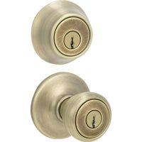 695T 5 CP CODE K6 Tylo Entry Lockset And Double Cylinder Deadbolt 695T 5 CP CODE K6, 695T 5 CP CODE K6 Tylo Entry Lockset And Double Cylinder Deadbolt