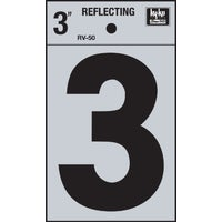 RV-50-3 Hy-Ko 3 In. Reflective Numbers adhesive number