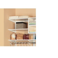 7313143611 Organized Living FreedomRail Melamine Closet Shelf closet shelf