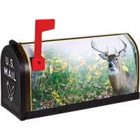 T-RD-DER2 Flambeau T2 Deer Decorative Post Mount Mailbox T-RD-DER2, No. 1 Deer Decorative Mailbox