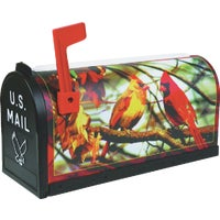 T-RD-CRD Flambeau T2 Cardinal Decorative Post Mount Mailbox T-RD-CRD, No. 1 Cardinal Decorative Mailbox