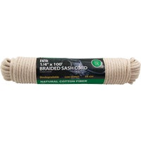 218856 Do it Solid Braided Cotton Sash Cord 218856, Do it Solid Braided Cotton Sash Cord