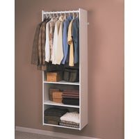 RV1472 Easy Track Hanging Tower Wall-Mounted Shelving Unit RV1472, Easy Track Wall-Mounted Shelving Hanging Tower Unit