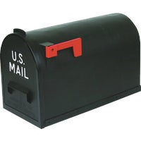 TR-7001 Flambeau T3 Plastic Post Mount Mailbox TR-7001, No. 2 Poly Mailbox