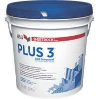 384013 Sheetrock Plus 3 Pre-Mixed Lightweight All-Purpose Drywall Joint Compound plus sheetrock