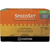 SDS25 Custom Building Products SpeedSet Fortified Thin-Set Mortar SDS25, Custom SpeedSet Fortified Thin-Set Mortar