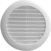 RDV6S01 Builders Best Round Eave & Soffit Vent 111871, Bathroom Fan Soffit Vent