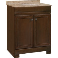 CBC20B24 Continental Cabinets Westbrook Vanity with Top CBC20B24, Westbrook Vanity Base & Top Combo 24X18X32