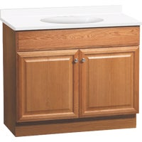 C14036A Continental Cabinets Richmond Vanity with Top