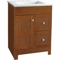 CBPPARTCHT24D Continental Cabinets Allenton Vanity with Top