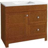 CBPPARTCHT36D Continental Cabinets Allenton Vanity with Top