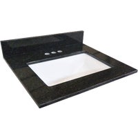 553255 Design House Black Pearl Granite Vanity Top top vanity