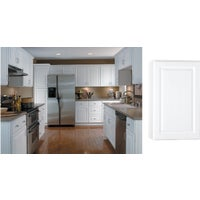 CBKW1830-SW Continental Cabinets Hamilton Single Door Wall Kitchen Cabinet