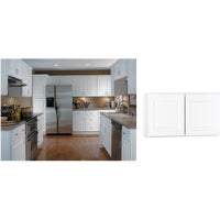 CBKW3018-SW Continental Cabinets Hamilton Double Door Bridge Wall Kitchen Cabinet