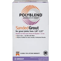 PBG227-4 Custom Building Products Polyblend Sanded Tile Grout grout tile