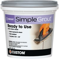 PMG381QT Custom Building Products Simplegrout Tile Grout grout tile